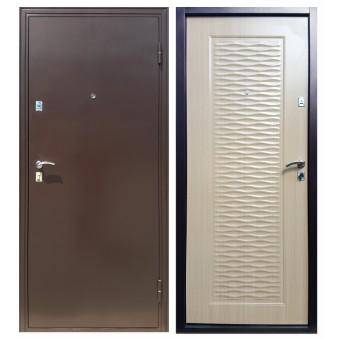 Сейф двери Дверь Sidoorov Волна-2 Клён