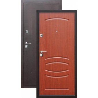 Сейф двери Стройгост 7-2 Итальянский орех